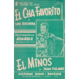 """""""El cha favorito"""" de Luis escuera et """"El minos"""" de Juan Fulano (Accordéon/guitare)"""