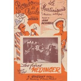 """""""Romeo de Sao Paulo"""" et """"Le martiniquais"""" par les frères Medinger (Accordéon)"""