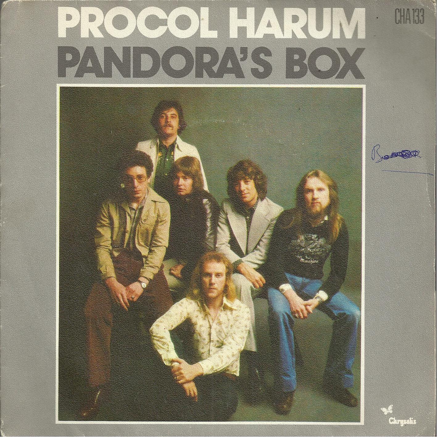 Pandora's Box 3'33 (K. Reid - G. Brooker) / Piper's Tune 4'23 (K. Reid - G. Brooker) - Procol Harum