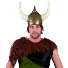 Casque Viking Adulte - 204473 - Taille Unique