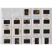 Lot De 18 Diapositives Rares Et Originales Du Film