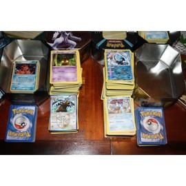 Lot 100 Cartes Pokemon Dont 10 Rare Ou Holo Ou Reverse Ou 100 Pv Et Plus