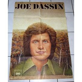 affiche de concert de Joe Dassin
