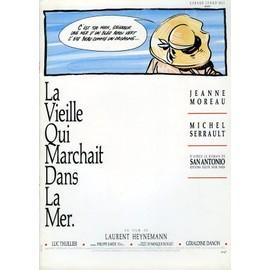 La Vieille Qui Marchait Dans La Mer-Dossier Presse-Laurent Heynemann, Jeanne Moreau, Michel Serrault