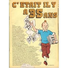 Tintin : C'etait Il Y A 35 Ans 1