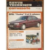 Revue Technique Carrosserie N� 125 : Opel Vectra 2 Et 3 Volumes