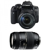 CANON EOS 750D + 18-135 IS STM + TAMRON 70-300 DI