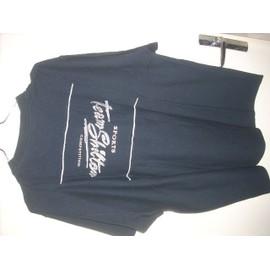 T-Shirt Noir Shilton Manches Courtes T Xl