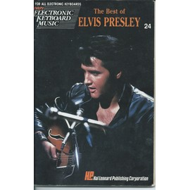 THE BEST OF ELVIS PRESLEY - EASY ELECTRONIC KEYBOARD MUSIC 24