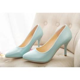 Escarpins Femme/Chaussure � Talon Haut Bouts Pointus Style Classique-Emilie Mariage
