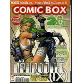 Comic Box - N�30 - Decembre 2000 - 2001 Preview Le Futur Des Comics En Detail.. - Aphrodite Ix - Pas La Peine De Chercher L'info Ailleurs, La Plus Fraiche Est Ici Dans Cb, Le Heros Du Mois ... de COLLECTIF
