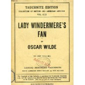 Lady Windermere's Fan, A Play About A Good Woman (Collection Of British And American Authors, Vol. 4112) de oscar wilde