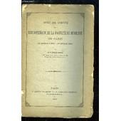 Notice Sur L'origine De La Bibliotheque De La Faculte De Medecine De Paris - de CHEREAU ACHILLE