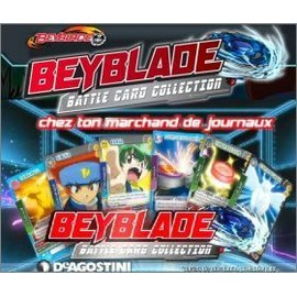 Carte Beyblade Battle Card Collection - N� 137 (Carte Rare)