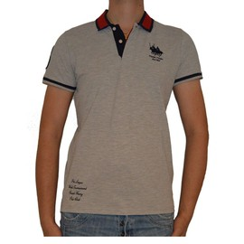 Polo Frank Ferry Ff178 Gris