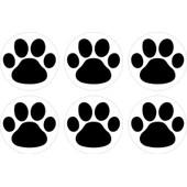 Set 6x Autocollant Sticker Macbook Laptop Voiture Moto Patte Chien Chat Animal