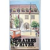 Horaires Des Bus Ctb Besan�on 1982 Avec Plans