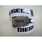 Ceinture Motor Diesel Calapiel Toile Cordura Mode Taille Unique