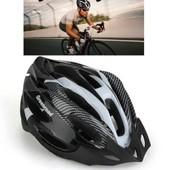 Casque V�lo Vtt Vtc Bicyclette Bike Helmet Blanc R�glable Avec Visi�re