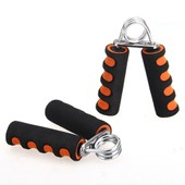 2x Pince Poign�e Musculation Exercice Force Main Avant Bras Fitness 20lbs Orange