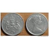 Grande Bretagne = Pi�ce De 5 (Five) New Pence De 1969 Elizabeth 2