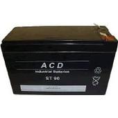 Peg Perego Jouets Batterie 12v 8ah / 7.6ah Rechargeable