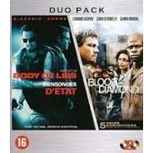 Duo Pack Mensonges D'etat Et Blood Diamond de Ridley Scott