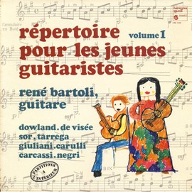 répertoire pour les jeunes guitaristes, avec les partitions, volume 1 (harmonia mundi HM 346)