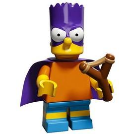 Mini Figurine Bartman - Lego Minifigures 71009 Les Simpsons S�rie 2