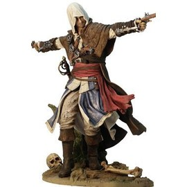 Assassin's Creed Iv Black Flag Statuette Pvc Edward Kenway The Assassin Pirate 24 Cm