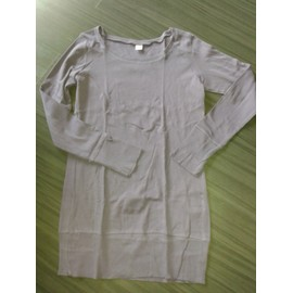 Pull Long H&m Col Rond Manches Longues