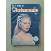 Almanach Cinemonde Du 01/01/1954