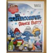 Les Schtroumpfs Dance Party Jeu Vid�o Wii