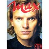 Max - N�1 - Novembre 1988 - Sting - J'ai Vaincu La Peur - Mike Tyson, Florent Pagny, Generation Gorbatchev, Alpha Blondy, Jean Reno, Isabelle Huppert, Khidiat Uline, Dennis Quaid, Sting.... de COLLECTIF