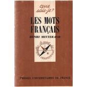 Les Mots Fran�ais de henri mitterand