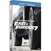Fast & Furious 7 - Blu-Ray+ Copie Digitale - �dition Bo�tier Steelbook de James Wan