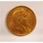 Magnifique 50 Francs 1859 Napoleon Plaqu� Or