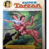 Super Tarzan Album 4 de Edgar Rice burroughs