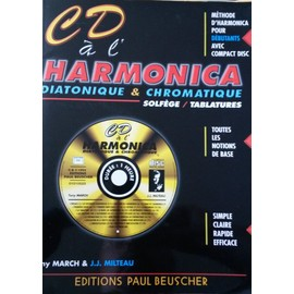 Méthode d'Harmonica Milteau + CD [Broché] by Jean-Jacques Milteau
