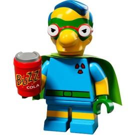 Mini Figurine Milhouse - Lego Minifigures 71009 Les Simpsons S�rie 2