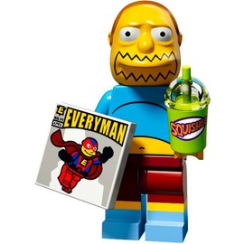 Mini Figurine Comic Book Guy - Lego Minifigures 71009 Les Simpsons S�rie 2