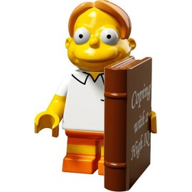 Mini Figurine Martin Price - Lego Minifigures 71009 Les Simpsons S�rie 2.0