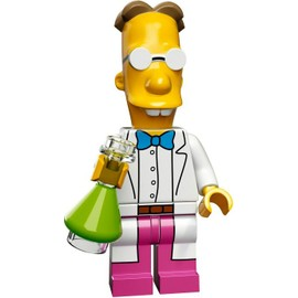 Mini Figurine Professeur Frink - Lego Minifigures 71009 Les Simpsons S�rie 2