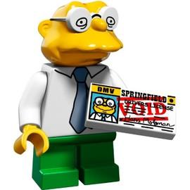 Mini Figurine Hans Moleman - Lego Minifigures 71009 Les Simpsons S�rie 2