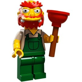 Mini Figurine Willie Le Jardinier - Lego Minifigures 71009 Les Simpsons S�rie 2.0