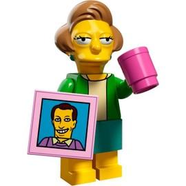 Mini Figurine Edna Krabappel - Lego Minifigures 71009 Les Simpsons S�rie 2
