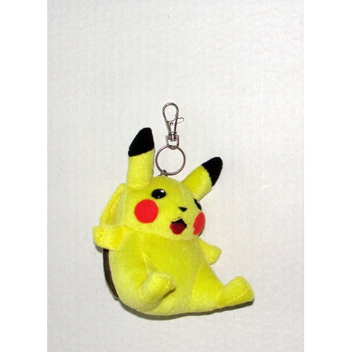 Pikachu pokemon porte cles clefs peluche nintendo 12cm