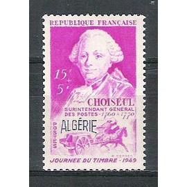 algérie, 1949, journée du timbre, n°275, neuf.