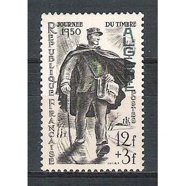 algérie, 1950, journée du timbre, n°282, neuf.