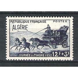 algérie, 1952, journée du timbre, n°294, neuf.